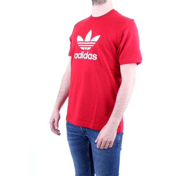 ADIDAS T-Shirt/Polo Red