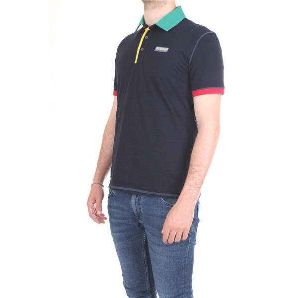 NAPAPIJRI Polo shirt Blue