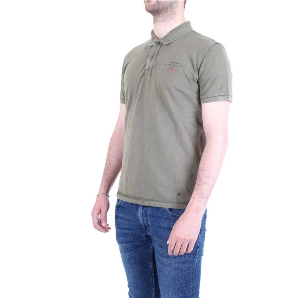 NAPAPIJRI Polo shirt Green