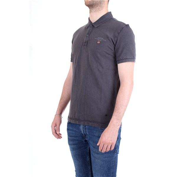 NAPAPIJRI Polo shirt Grey