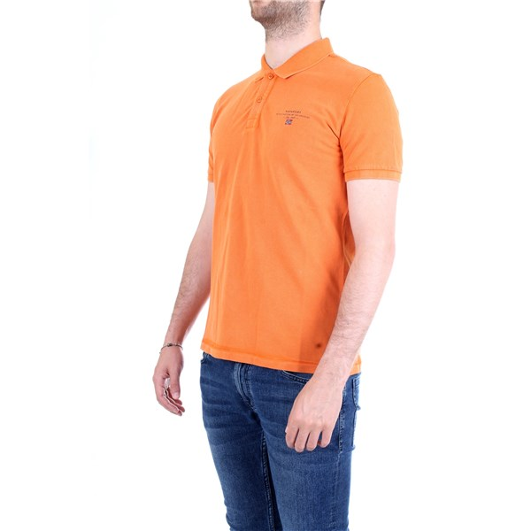NAPAPIJRI Polo shirt Orange