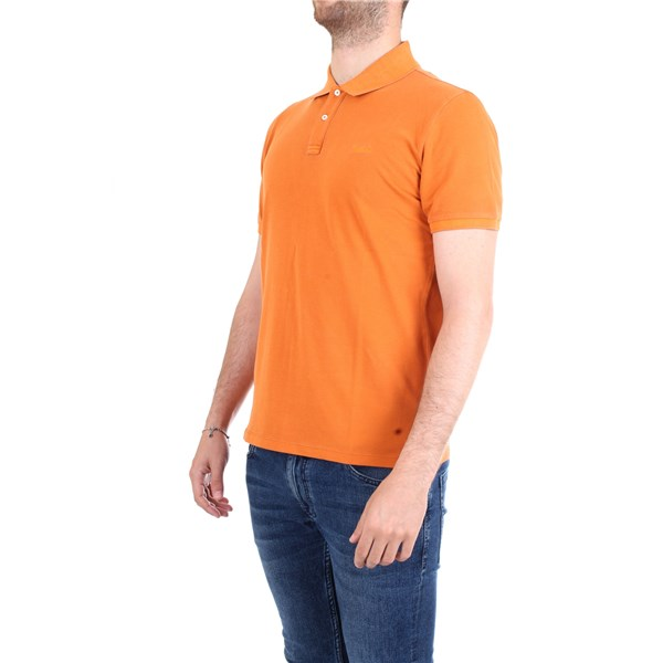 WOOLRICH Polo shirt Orange