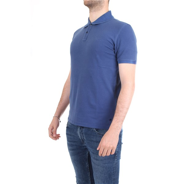 WOOLRICH Polo shirt Blue