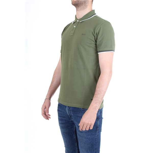 WOOLRICH Polo shirt Military green