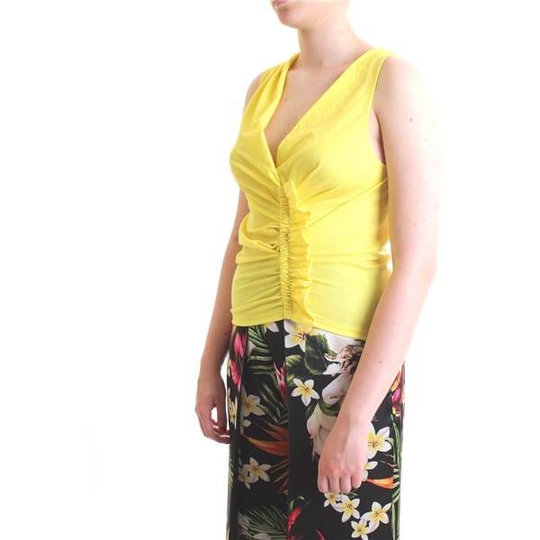 PATRIZIA PEPE Top Yellow