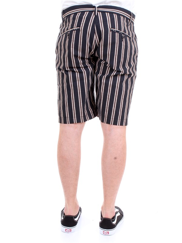Officina36 02545068 Black Clothing Man Trousers
