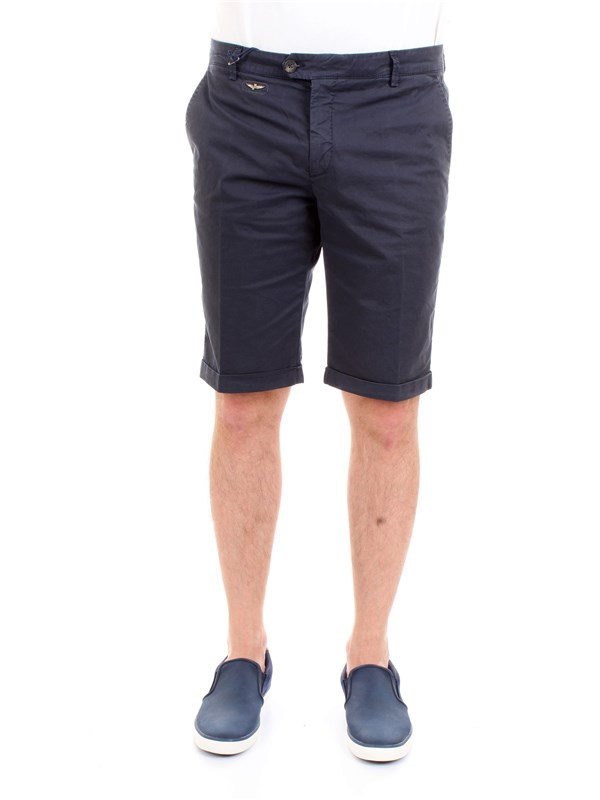 AERONAUTICA MILITARE 191BE071CT1868 Blue Clothing Man Trousers