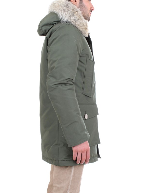 WOOLRICH WOCPS2880 Green Clothing Man PARKA