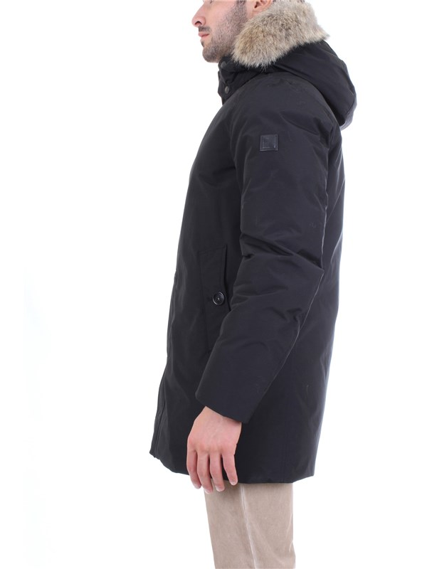 WOOLRICH WOCPS2939 Black Clothing Man PARKA