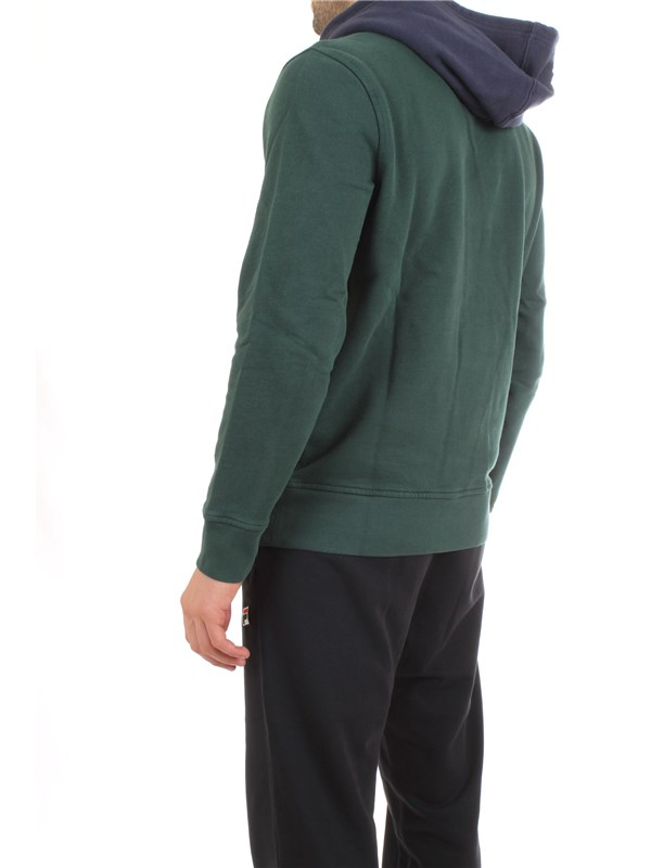 LEVI'S 56808 Green Clothing Man Sweater