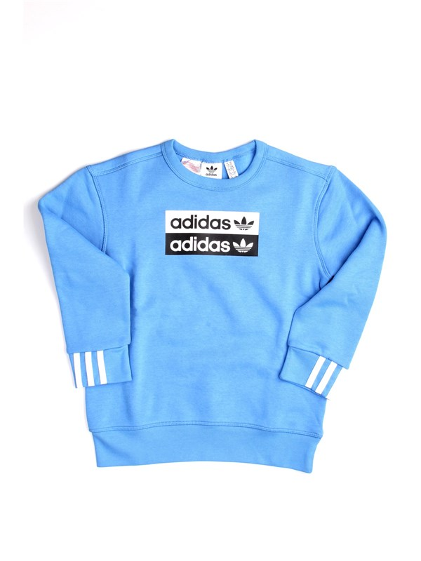 ADIDAS ORIGINALS ED7882 Light blue Clothing Unisex junior Sweater