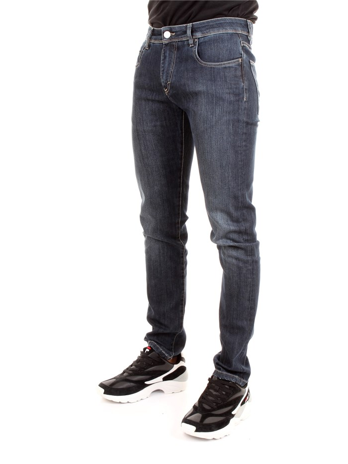 CAMOUFLAGE D00 A154 Dark blue Clothing Man Jeans