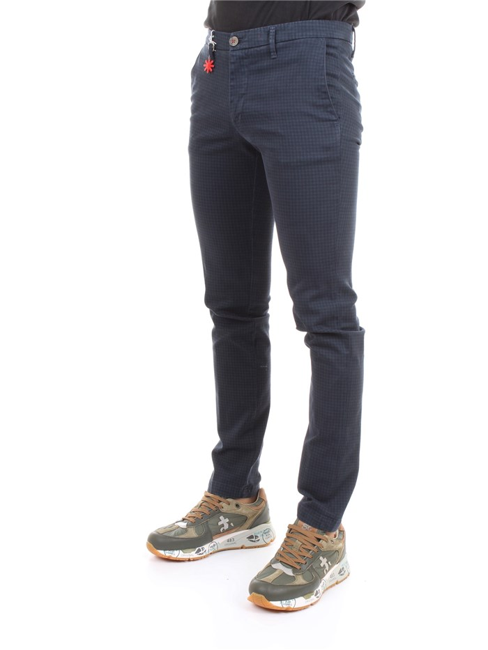 MANUEL RITZ 2732P1578 193813 Blue Clothing Man Trousers