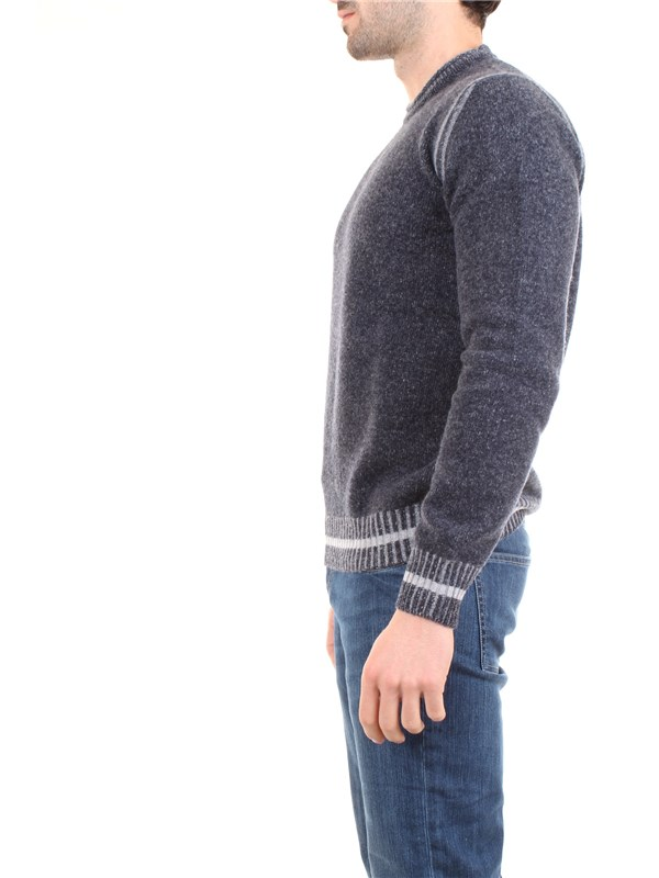 AB KOST 9304 7040 Medium blue Clothing Man Pullover