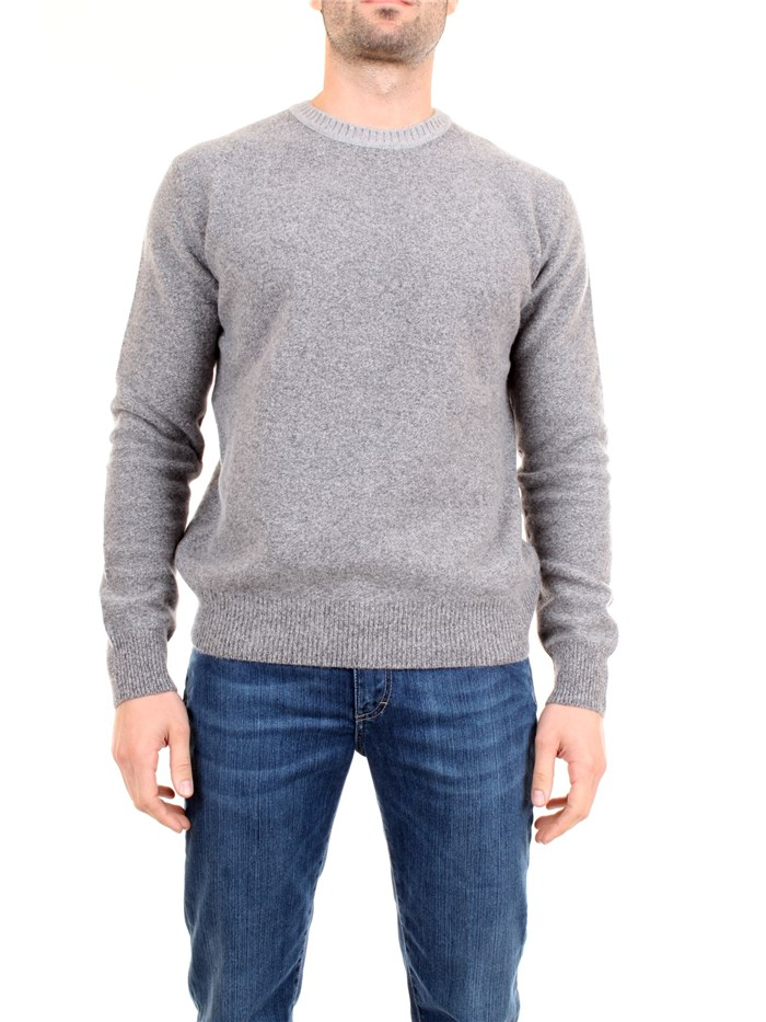 AB KOST 9309 7040 Grey Clothing Man Pullover