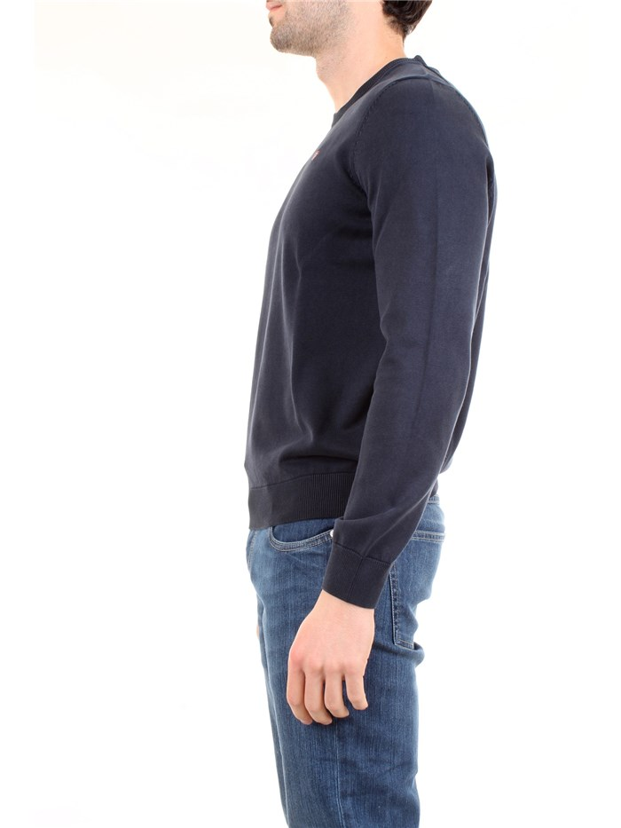 NAPAPIJRI NOYH2T Blue Clothing Man Pullover