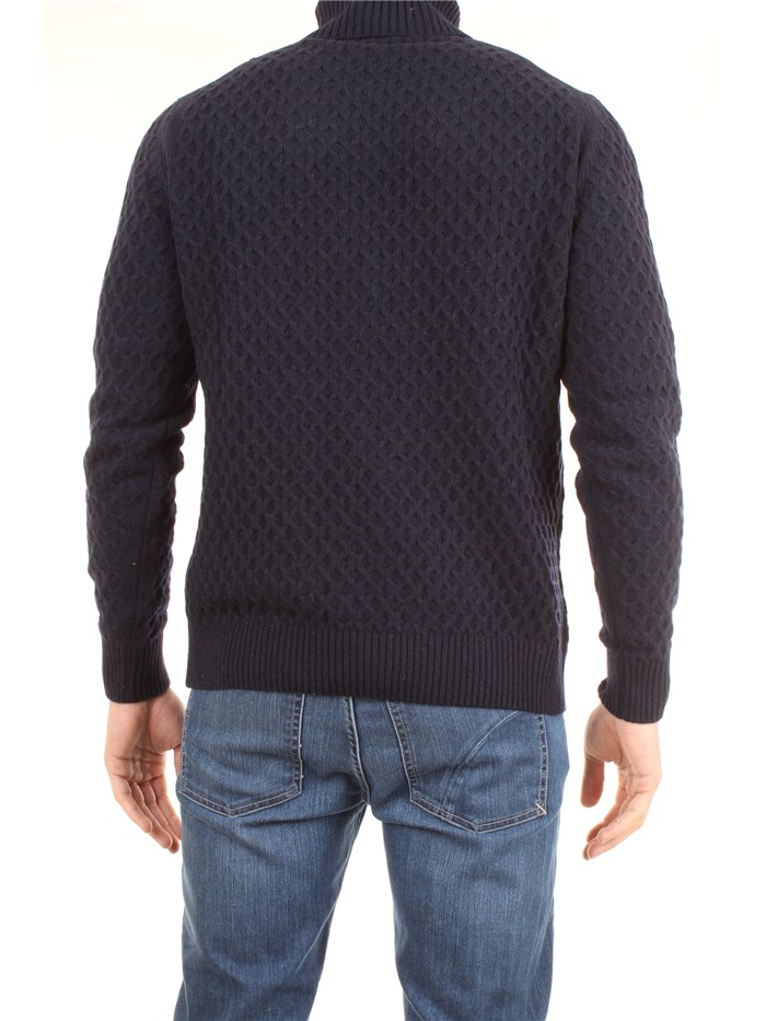 AB KOST 9307 7160 Blue Clothing Man Pullover