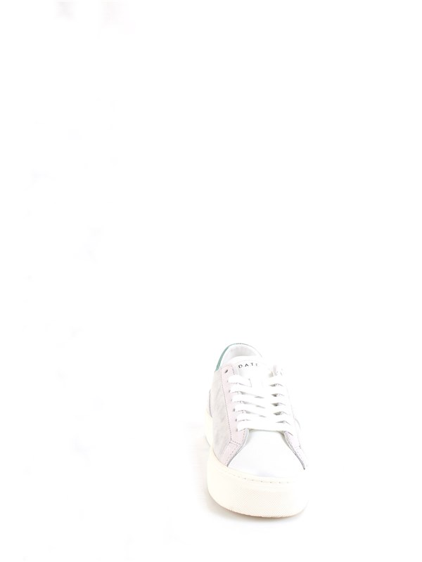 D.A.T.E. W321-VE-LA-SL Silver Shoes Woman Sneakers