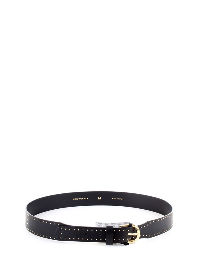 PENNYBLACK 55040319 Black Accessories Woman Belt