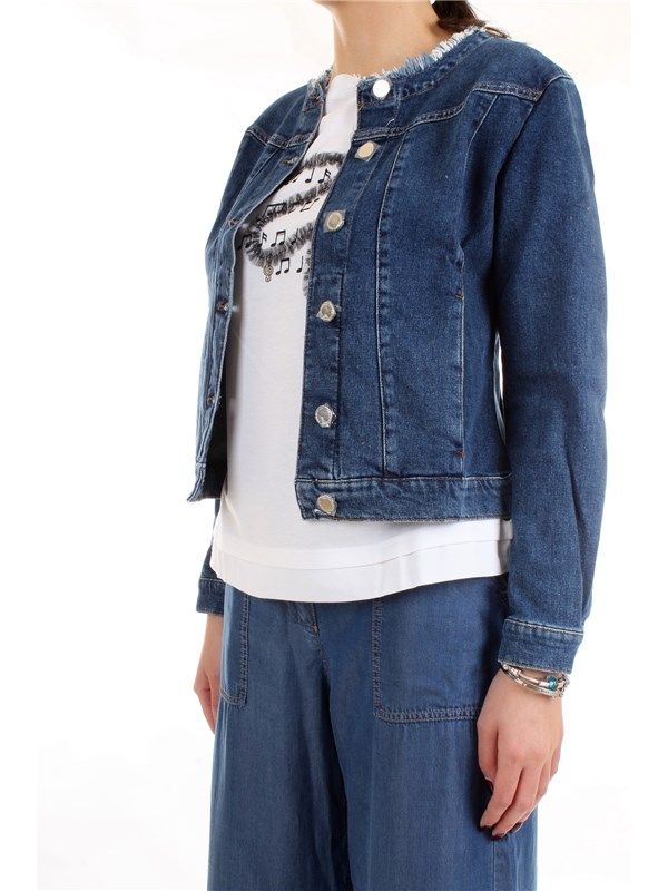 PENNYBLACK 30415020 Blue Clothing Woman Jacket