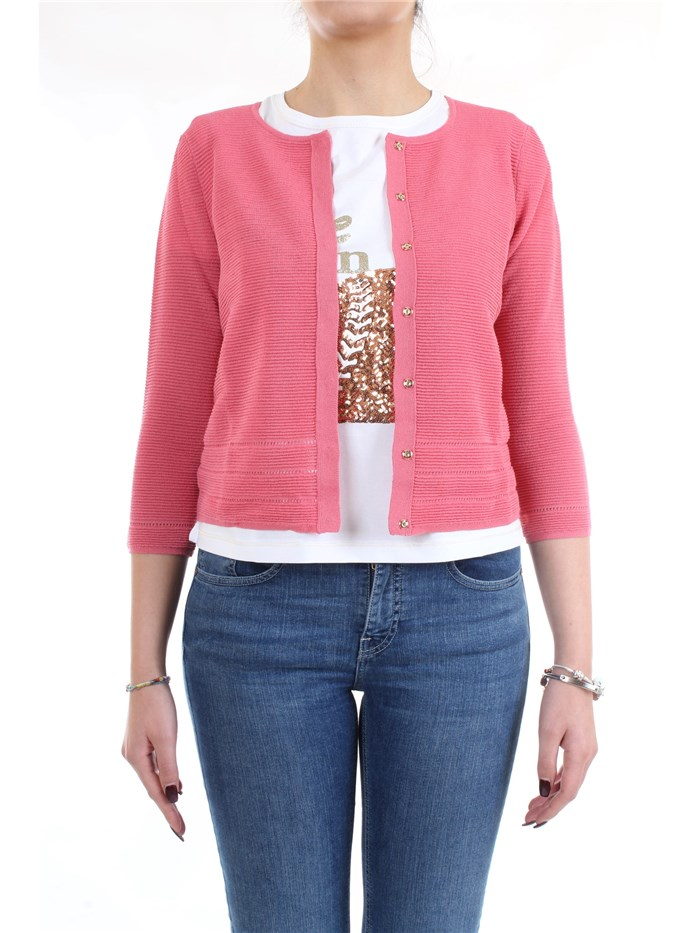 PENNYBLACK 13410320 Pink Clothing Woman Cardigan