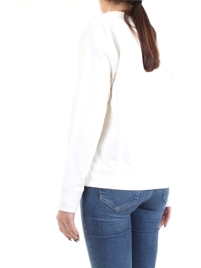FREDDY F8WSLS2 White Clothing Woman Sweater