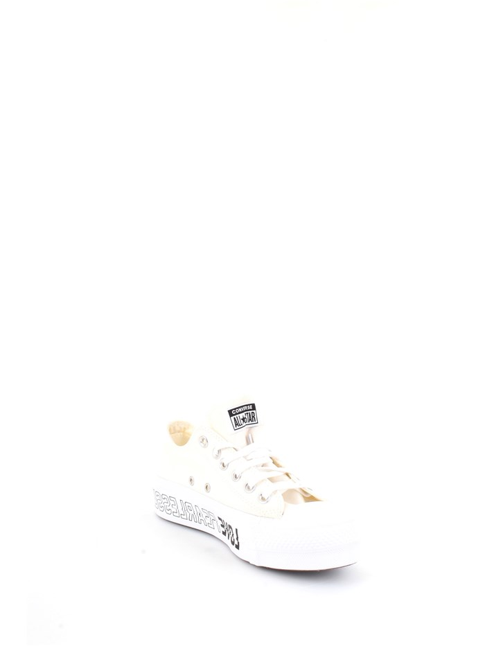 CONVERSE 567312C Beige Shoes Woman Sneakers