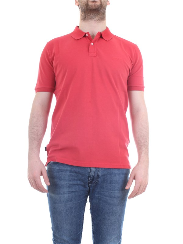 WOOLRICH CFWOPO0012MRUT1483 Red Clothing Man Polo shirt