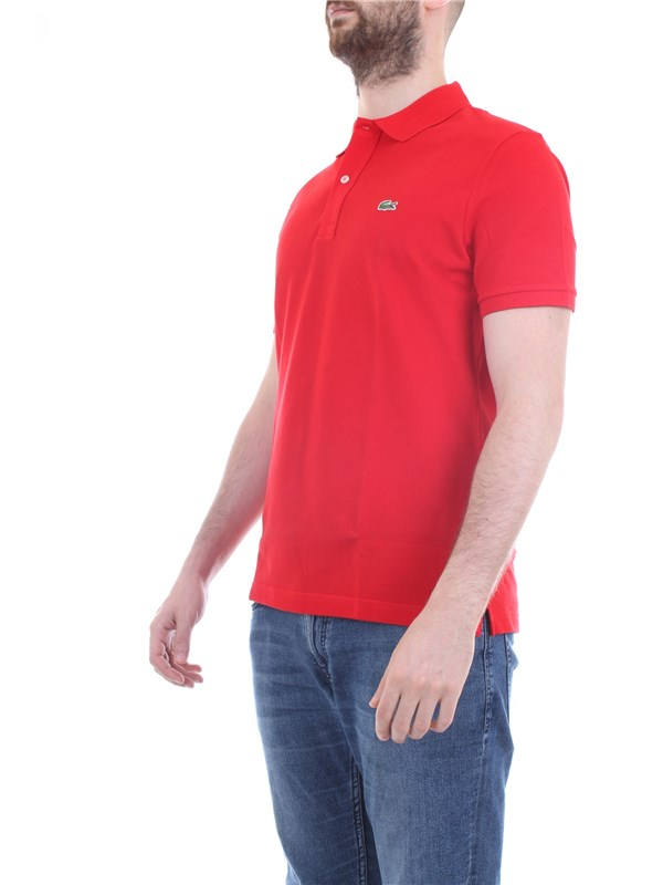 Lacoste PH4012 Red Clothing Man Polo shirt