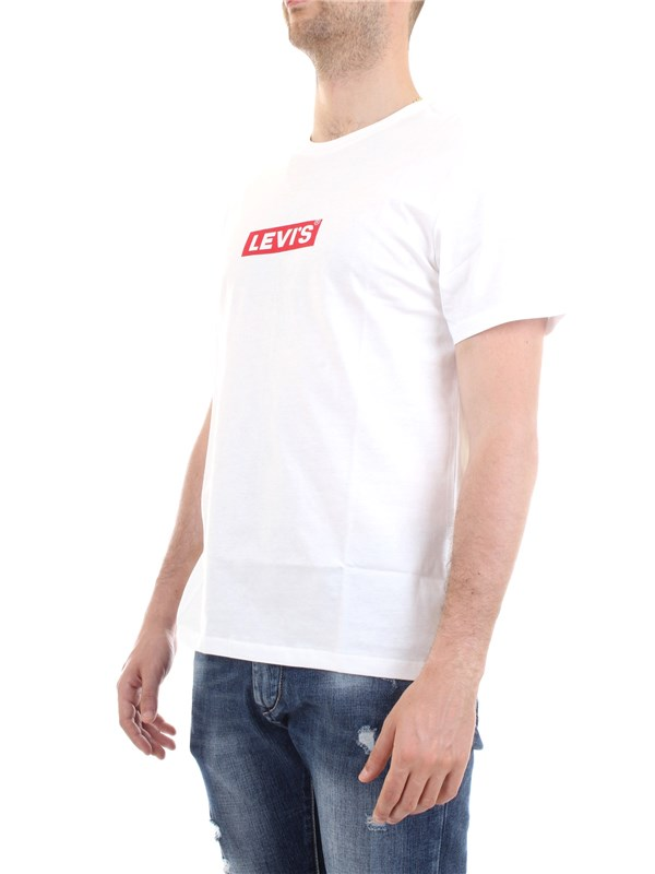 LEVI'S 85785 White Clothing Unisex T-Shirt/Polo