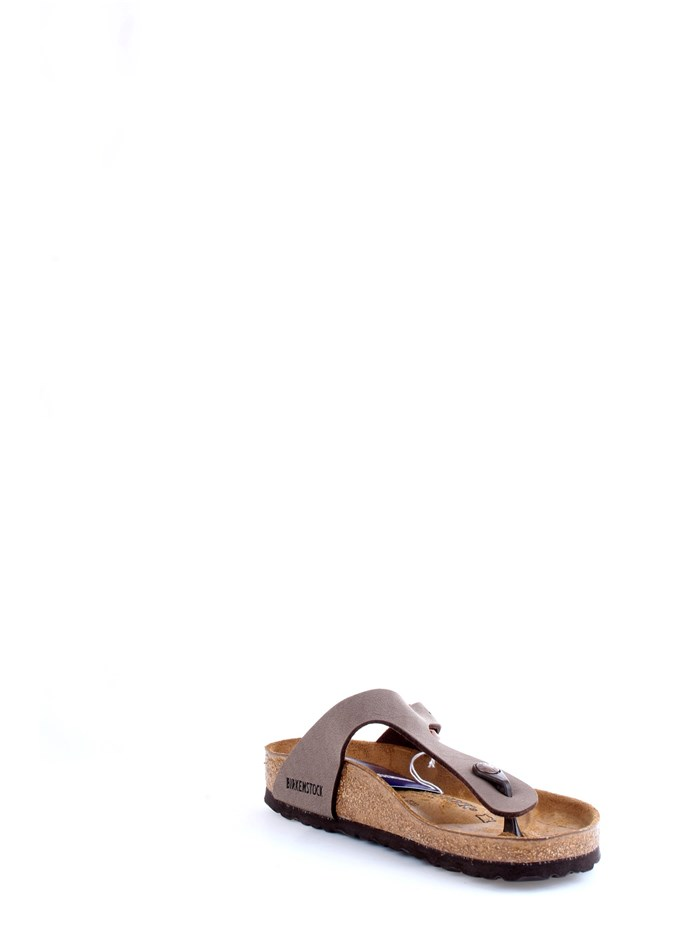 BIRKENSTOCK 0043751 Brown Shoes Unisex Slippers
