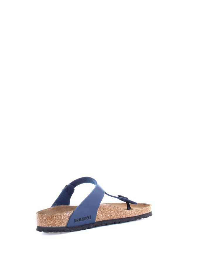 BIRKENSTOCK 0143621 Blue Shoes Unisex Slippers
