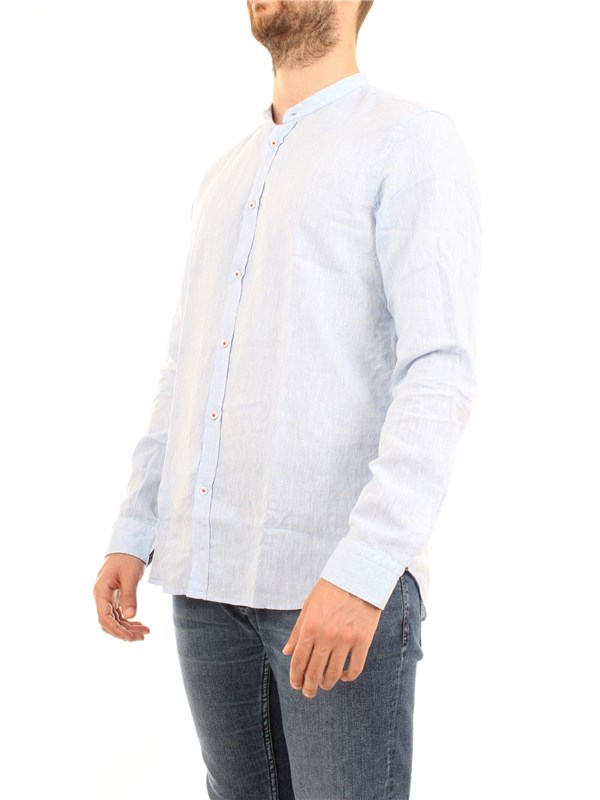MANUEL RITZ 2832E604L 203259 Light blue Clothing Man Shirt