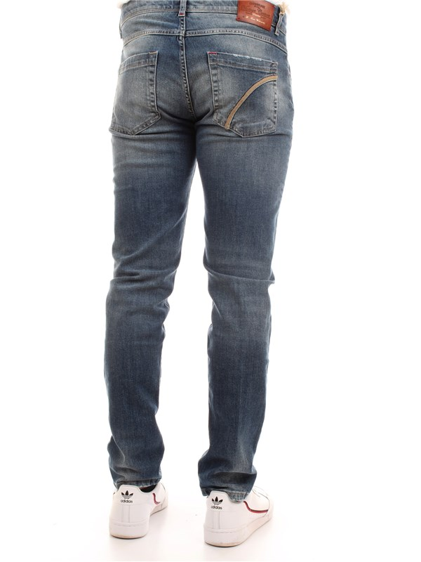 CAMOUFLAGE D26 A342 Medium blue Clothing Man Jeans