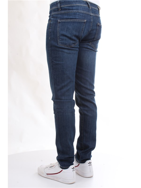 CAMOUFLAGE D00 A212 Blue Clothing Man Jeans