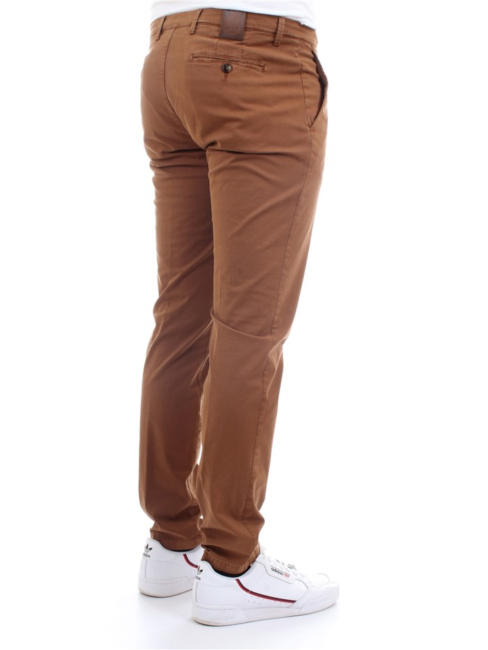 Briglia 320529 Leather Clothing Man Trousers
