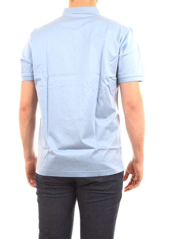NAVIGARE NV72051 Light blue Clothing Man Polo shirt