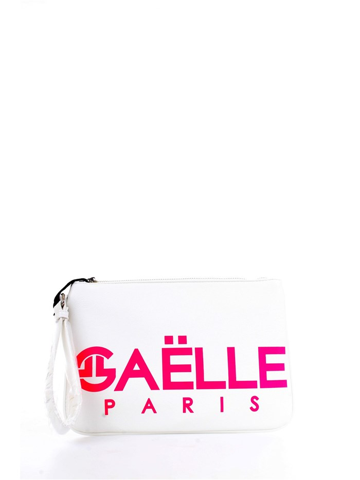 GAELLE PARIS GBDA1515 White Accessories Woman Clutch