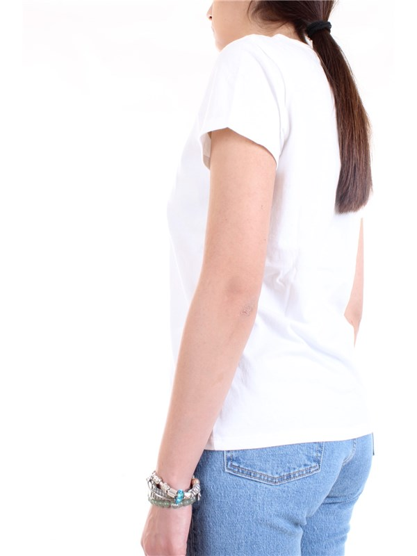 LEVI'S 17369 0969 White Clothing Woman T-Shirt/Polo