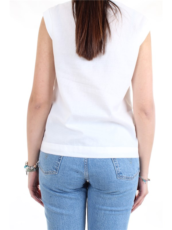 Cappellini By Peserico M08166L1 White Clothing Woman Top