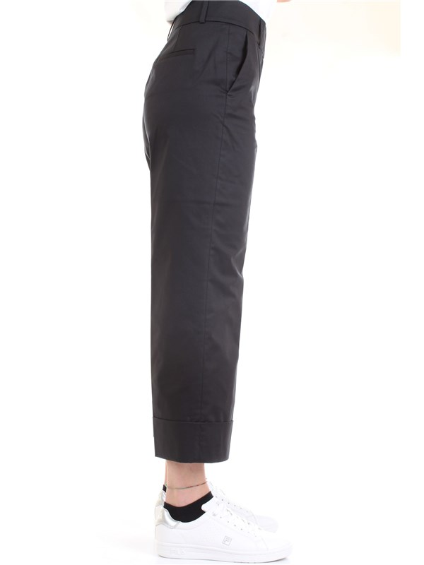 Cappellini By Peserico M04772 Blue Clothing Woman Trousers