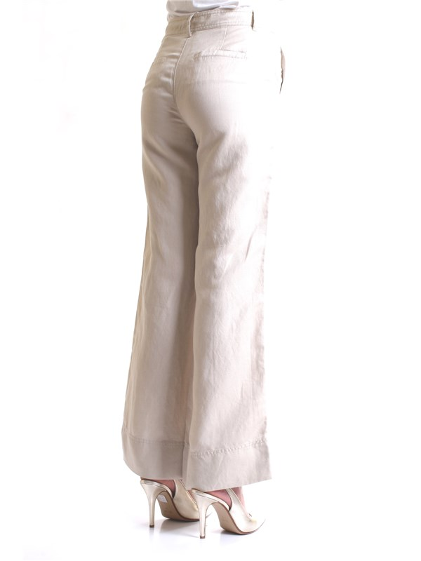 PENNYBLACK 31310219 Beige Clothing Woman Trousers