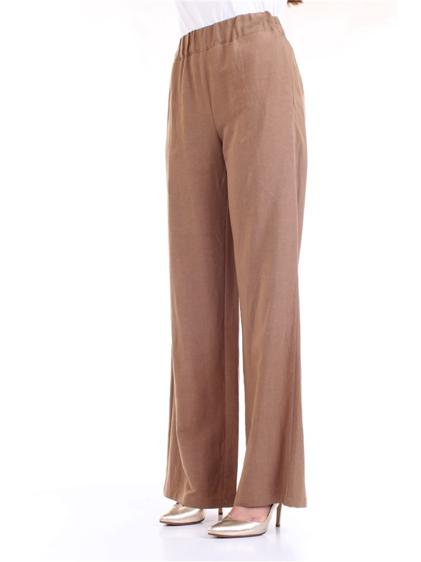 LANACAPRINA PF2303 Leather Clothing Woman Trousers
