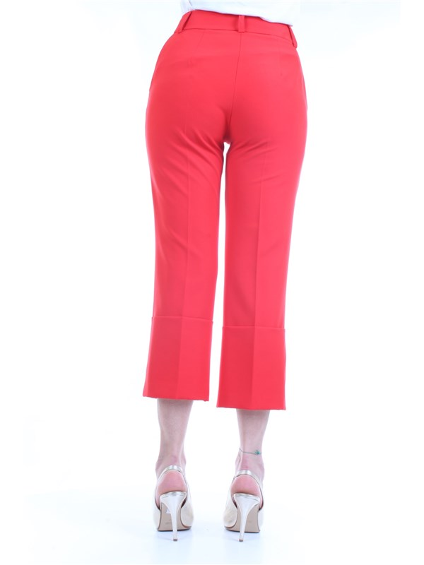LANACAPRINA PF2235 Red Clothing Woman Trousers