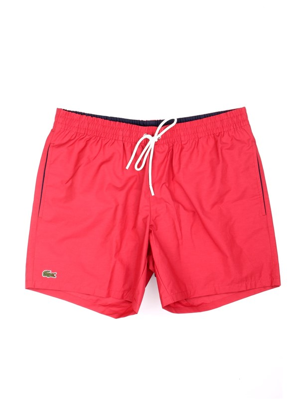 Lacoste MH7092 00 Red Clothing Man Swimsuit