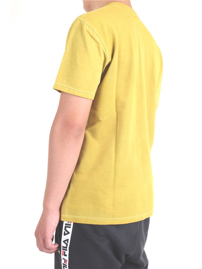 DIKTAT DK77162 Yellow Clothing Man T-Shirt/Polo