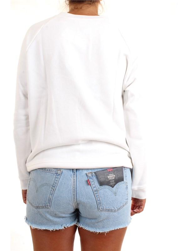 LEVI'S 29717-0014 White Clothing Woman Sweater