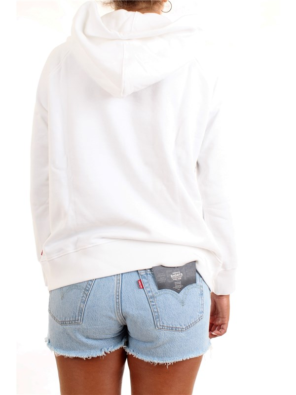 LEVI'S 35946-0010 White Clothing Woman Sweater