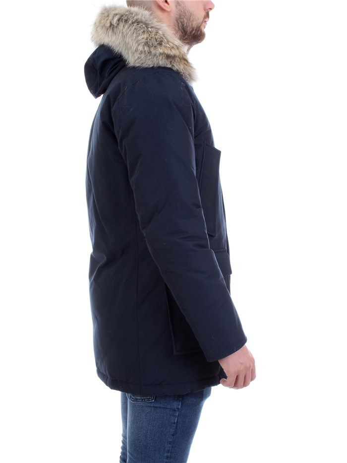 WOOLRICH WOCPS1674 Blue Clothing Man PARKA