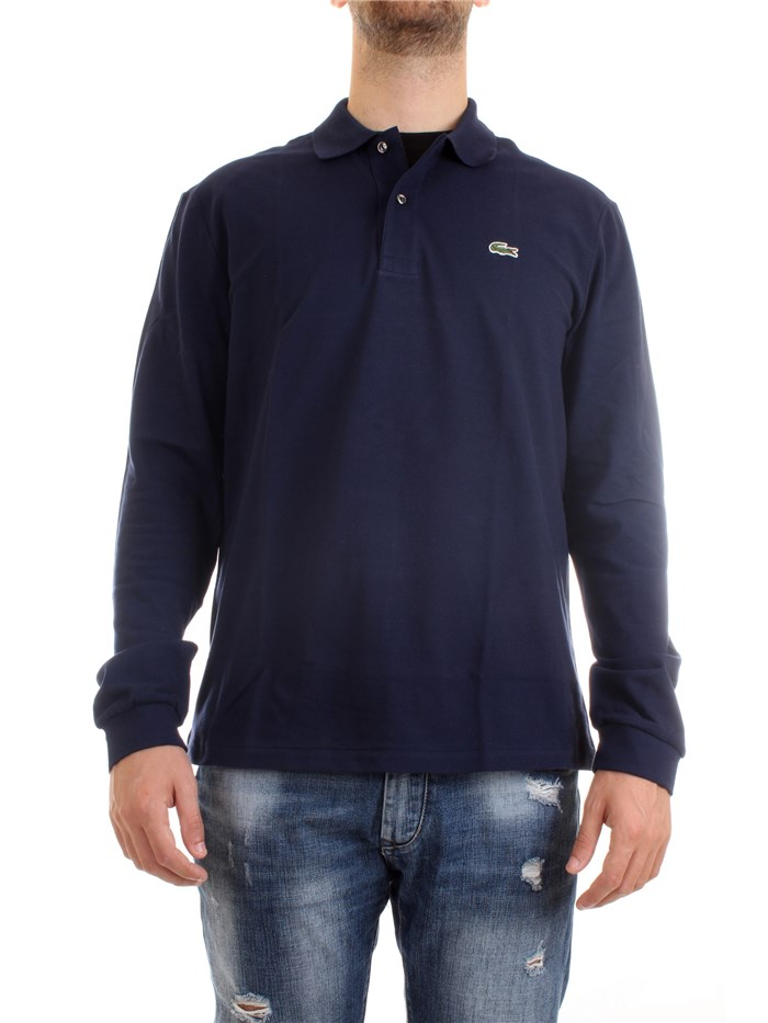 Lacoste L1312 00 Blue Clothing Man Polo shirt